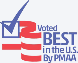 Voted Best in the US by PMAA